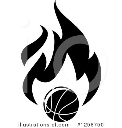 Basketball Clipart #1258750 by Vector Tradition SM