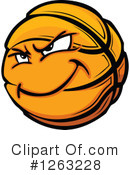 Basketball Clipart #1263228 by Chromaco