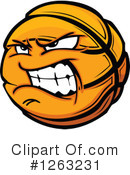 Basketball Clipart #1263231 by Chromaco