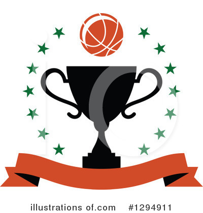Basketball Clipart #1294911 by Vector Tradition SM