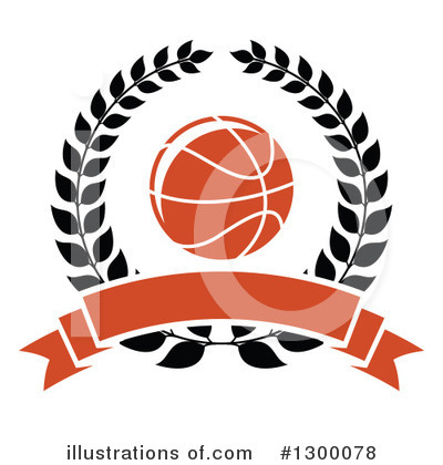 Basketball Clipart #1300078 by Vector Tradition SM