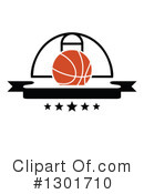 Basketball Clipart #1301710 by Vector Tradition SM