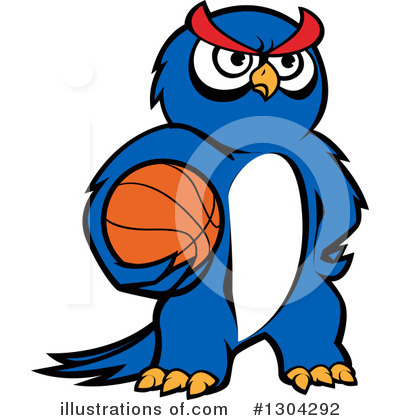 Basketball Clipart #1304292 by Vector Tradition SM