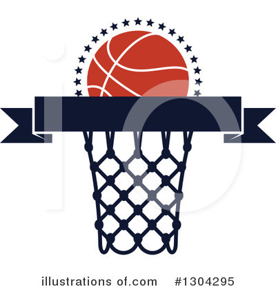 Basketball Clipart #1304295 by Vector Tradition SM