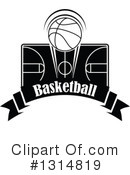 Basketball Clipart #1314819