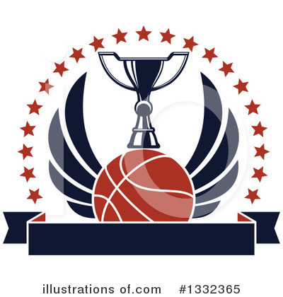 Basketball Clipart #1332365 by Vector Tradition SM