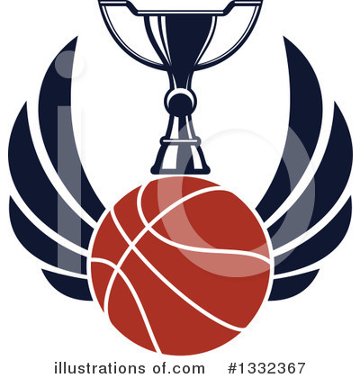 Basketball Clipart #1332367 by Vector Tradition SM