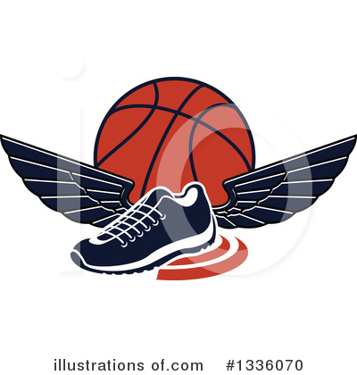 Royalty-Free (RF) Basketball Clipart Illustration by Vector Tradition SM - Stock Sample #1336070