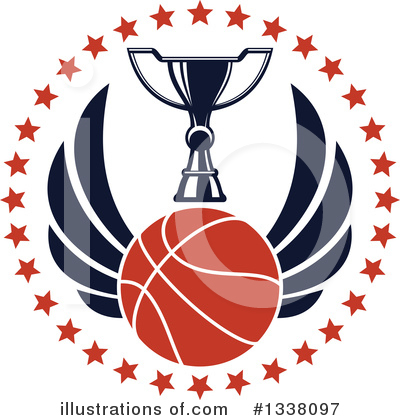 Basketball Clipart #1338097 by Vector Tradition SM