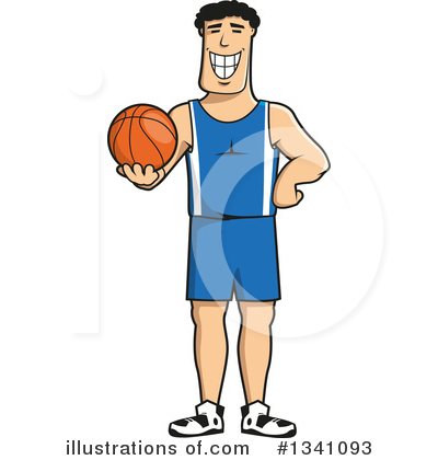 Basketball Clipart #1341093 by Vector Tradition SM