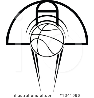 Basketball Clipart #1341096 by Vector Tradition SM