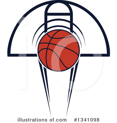 Basketball Clipart #1341098 by Vector Tradition SM