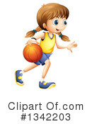 Basketball Clipart #1342203 by Graphics RF
