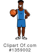 Basketball Clipart #1359002 by Vector Tradition SM