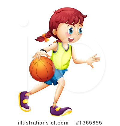 Basketball Clipart #1365855 by Graphics RF