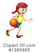 Basketball Clipart #1365855