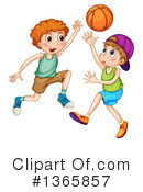 Basketball Clipart #1365857 by Graphics RF