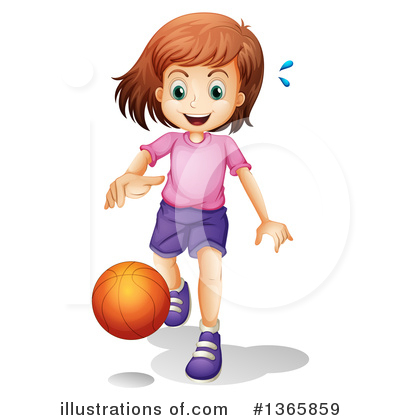 Basketball Clipart #1365859 by Graphics RF