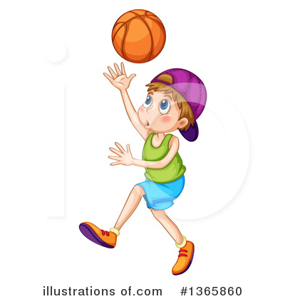 Basketball Clipart #1365860 by Graphics RF