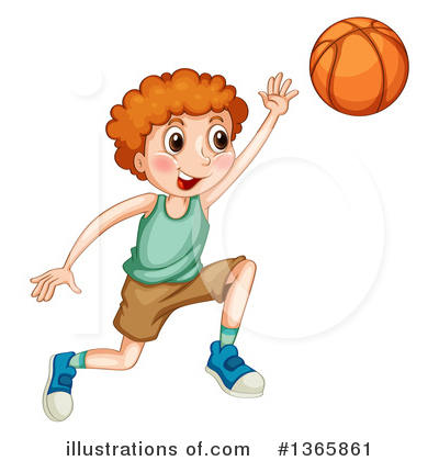 Basketball Clipart #1365861 by Graphics RF