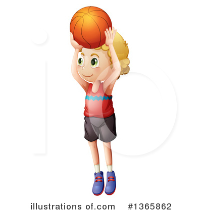 Basketball Clipart #1365862 by Graphics RF