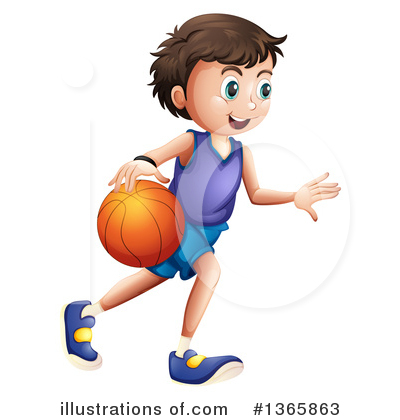 Basketball Clipart #1365863 by Graphics RF