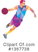 Basketball Clipart #1367738 by patrimonio