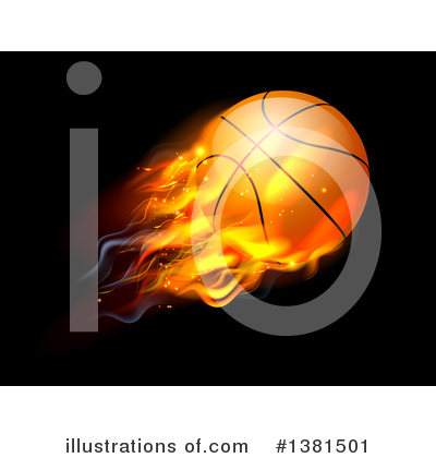 Basketball Clipart #1381501 by AtStockIllustration