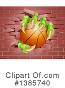 Basketball Clipart #1385740 by AtStockIllustration