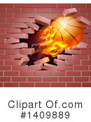 Basketball Clipart #1409889