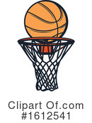 Basketball Clipart #1612541 by Vector Tradition SM