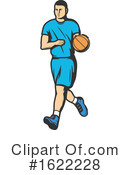 Basketball Clipart #1622228 by Vector Tradition SM