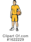 Basketball Clipart #1622229 by Vector Tradition SM