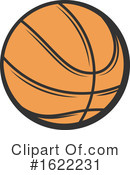 Basketball Clipart #1622231 by Vector Tradition SM
