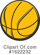 Basketball Clipart #1622232 by Vector Tradition SM
