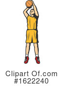 Basketball Clipart #1622240 by Vector Tradition SM