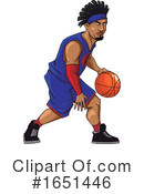 Basketball Clipart #1651446 by Morphart Creations