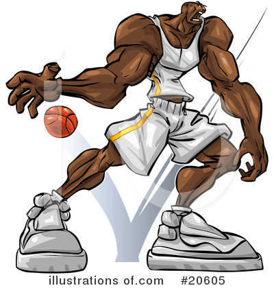 Basketball Clipart #20605 by Tonis Pan