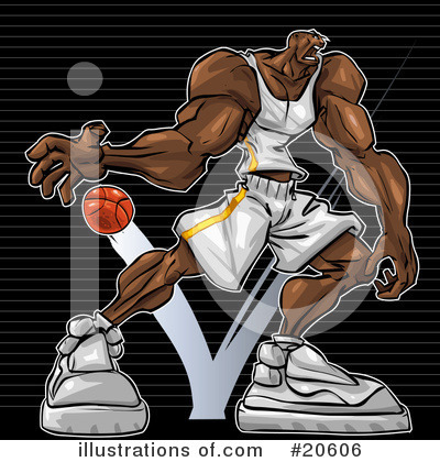Basketball Clipart #20606 by Tonis Pan