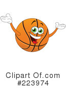 Basketball Clipart #223974 by yayayoyo