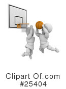 Basketball Clipart #25404 by KJ Pargeter