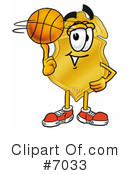 Basketball Clipart #7033 by Toons4Biz