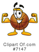 Basketball Clipart #7147 by Toons4Biz