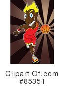 Basketball Clipart #85351 by mayawizard101