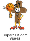 Basketball Clipart #8948 by Toons4Biz