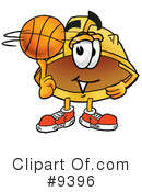 Basketball Clipart #9396 by Toons4Biz