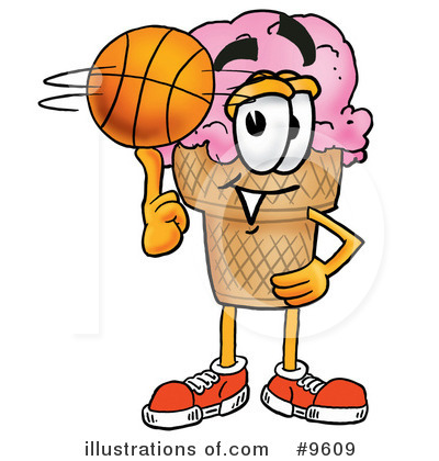 Basketball Clipart #9609 by Toons4Biz