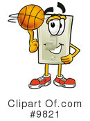 Basketball Clipart #9821 by Toons4Biz