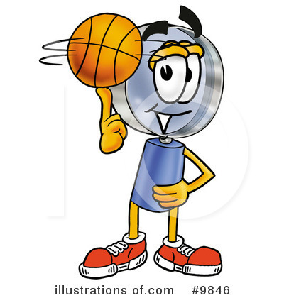 Basketball Clipart #9846 by Toons4Biz