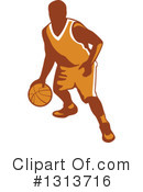 Basketball Player Clipart #1313716 by patrimonio